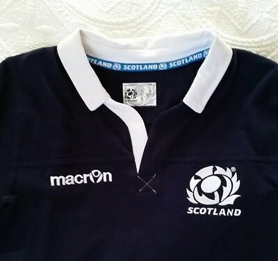 Boys Scotland rugby jersey