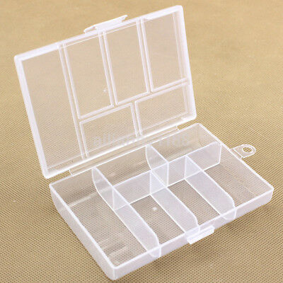 Large Plastic Earring Jewelry Storage Bead Organizer Screw Holder Box Case Craft