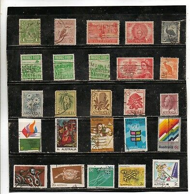 Australia Used; Nice Starter Or Fillin Lot Priced Very Low For A Bid.  Lot  5