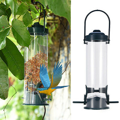 Hanging Automatic Bird Feeder Bird Toy for Parrot Bite Climbing Catch Bite Toys