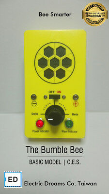 Cranial Electro Stimulation Device - The Bumble Bee - Delta /Theta/Alpha/Beta