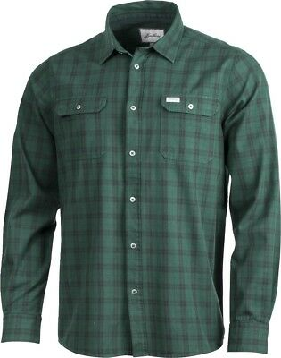 Lundhags Flanell Shirt Outdoorhemd (pine/charcoal)