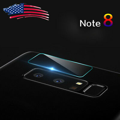 Back Camera Lens Tempered Glass 7.5H+ Protector Cover For Samsung Galaxy Note 8