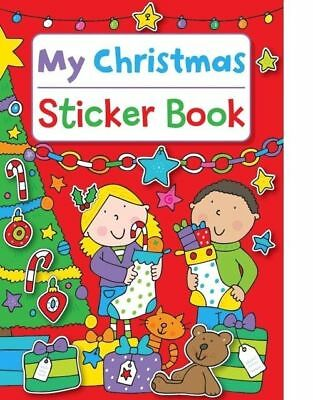 My Christmas Sticker Book Stocking filler Brand New Kids Art Fun