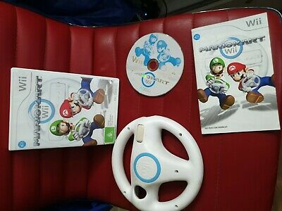 Mariokart Wii with 1 wheel (random colour)