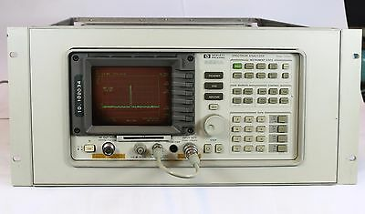 HP 8591E Spectrum Analyzer, 1.8 GHz 19 Zoll Trackinggen. Keysight/Agilent #2002