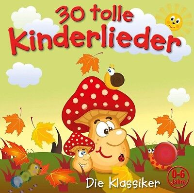 Kiddy Club - 30 Tolle Kinderlieder (Vol.2)   Cd Neu
