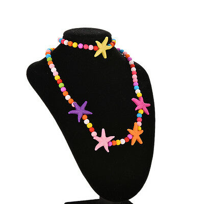 1 Set Kids Jewelry Necklace Bracelet Girls Party Decor Dress Accessories BDAU