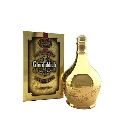 Glenfiddich 18 Year Old Superior Reserve Single Malt Scotch Whisky 700ml 43%