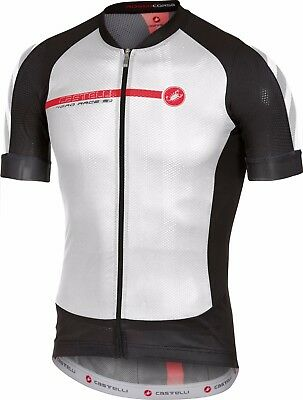 Castelli Aero Race 5.1 Jersey Size - 2XL WHITE/BLACK/RED
