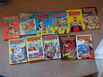 Dandy Annuals Lot (years 1980-2005)