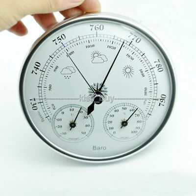 Wall mounted thermometer hygrometer pressure gauge air weather barometers