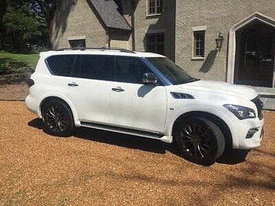 2015 Infiniti QX80 Limited 2015 Infiniti QX80 Limited AWD Excellent Condition Rare