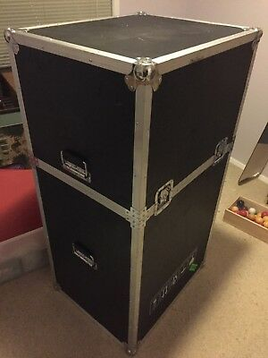 Aluminium And Wood Travel Flight Road Touring Case for Amps, mixers, cameras