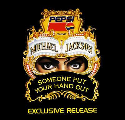 MICHAEL JACKSON Someone put your hand out CD PROMO RARE PEPSI NEW SEALED!