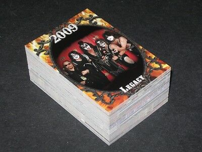 KISS 360 - Complete Trading Card Set (90) Press Pass - 2009 - NM