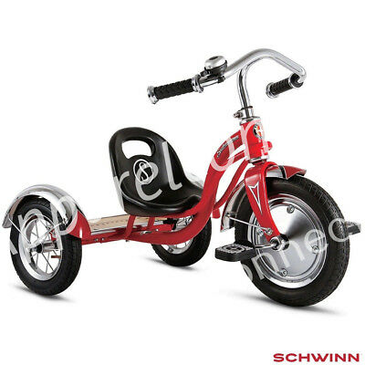 "SCHWINN Roadster Retro Style 12"" Trike / Tricycle  BYSWC3ROTRED Brand New"