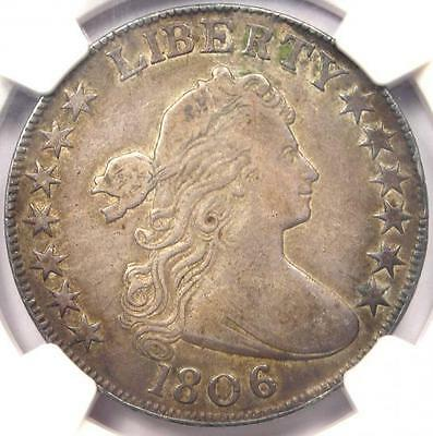 1806 Draped Bust Half Dollar 50C O-105a - NGC VF Details - Rare Certified Coin