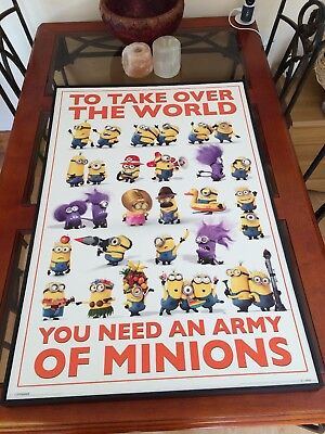 Minions Hard Framed Poster collection ME8