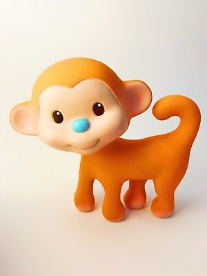 Infantino Monkey Baby Teether Squeaky Toy