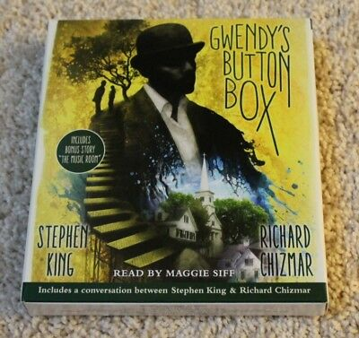 Stephen King: Gwendy's Button Box + The Music Room (Audio CD) unabridged
