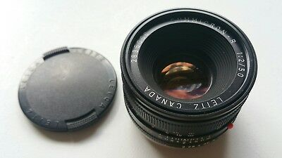 Leica Summicron 50 1:2 Canon EF ring