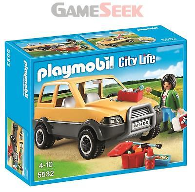 Playmobil Vet With Car - Toys Brand New Free Delivery