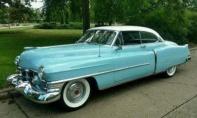 1951 Cadillac Other Cloth Rare 1951 Cadillac Coupe de Ville 2 Door Hard Top Restored
