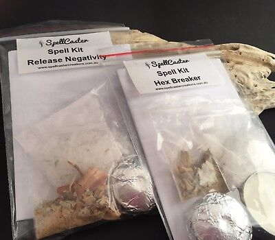 SPELL KITS choose ANY NINE (9) - FREE POST to anywhere in Australia