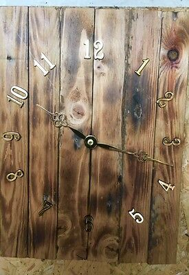 Recycled Wood Wall Clock