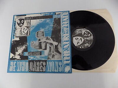 Lp Theatre Of Hate ‎He Who Dares Wins (Live LP You Have A Choice) Burning Rome