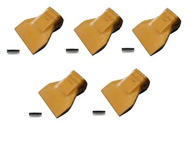 230F H&L Style Flare Wide Digging Bucket Teeth w/ pins (5 PACK)