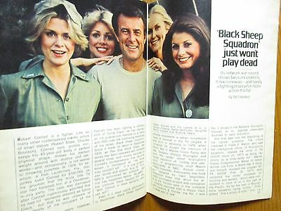1978 TV Guide(LISA WILKINSON/BRIANNE  LEARY/BLACK SHEEP SQUADRON/DENISE  DUBARRY