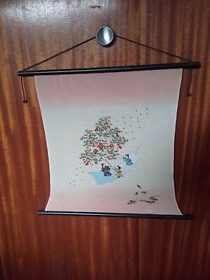 japanese tapestry wall hanging