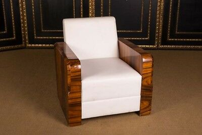 High-Quality French Chair Berger in the Art Deco Style