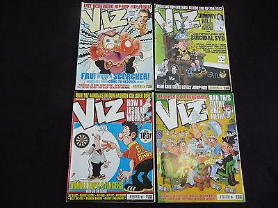 British Viz comics / magazines issues 178, 179, 180, 181 - 4 comics