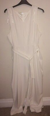 White Jumpsuit Size 20 Atmosphere