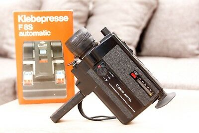 CANON 310XL Super 8 MOVIE CAMERA , Fim Student Camera Tested Working Great