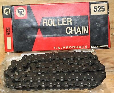 Takasago T.K. Motorcycle Roller Chain: Size 525 / 92 Links 525-92