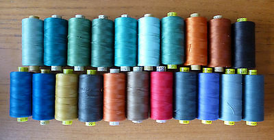 700m Gutermann 100% Polyester Mara 70 Thread M 403 G - No 70 in Various Colours