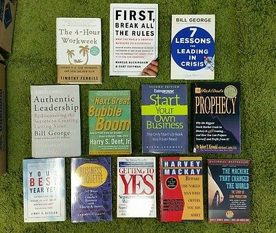 Lot of Business Books (12 paperbacks)
