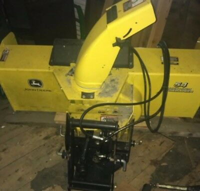 2015 John Deere 54in snow blower Snowplow Attachments