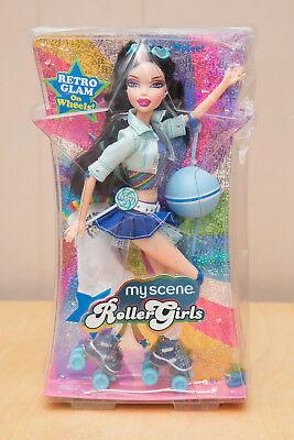 2006 Nolee Retro Glam On Wheels K8263 My Scene Roller Girls Doll Rare NRFB Rare