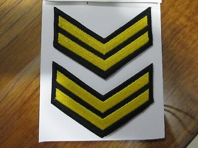 Marines - LEADING SEAMAN SERVICE STRIPES -  PATCHES