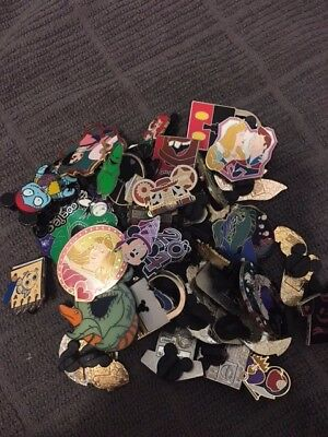 Disney Pin Trading Lot of 40 Assorted Pins - Tradable