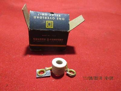 One Overload Relay Unit Square D Company W4.62