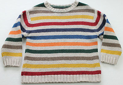 BABY GAP Wool Blend Striped Pullover Sweater Toddler Size 3 years