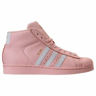 New Adidas Youth Originals Pro Model Gs Shoes [Cq0621]  Ice Pink//white
