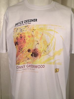 New Jonny Greenwood Bryce Dessner Radiohead There Will Be Blood Promo T-Shirt