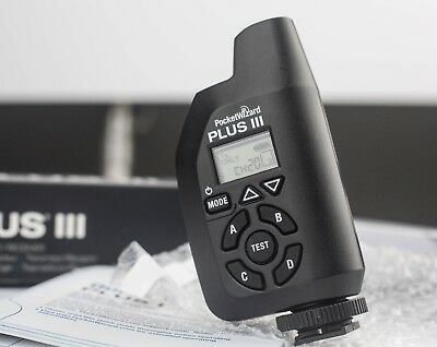 Pocket Wizard Plus III Transceiver in excellent condition
